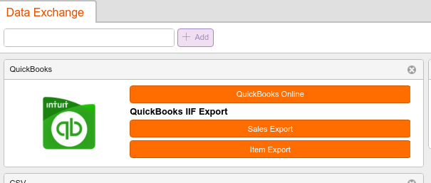 QuickBooks Integration » KORONA pos Manual
